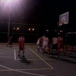 Kibbutz Hannaton basketball game
