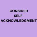 self acknow (1)